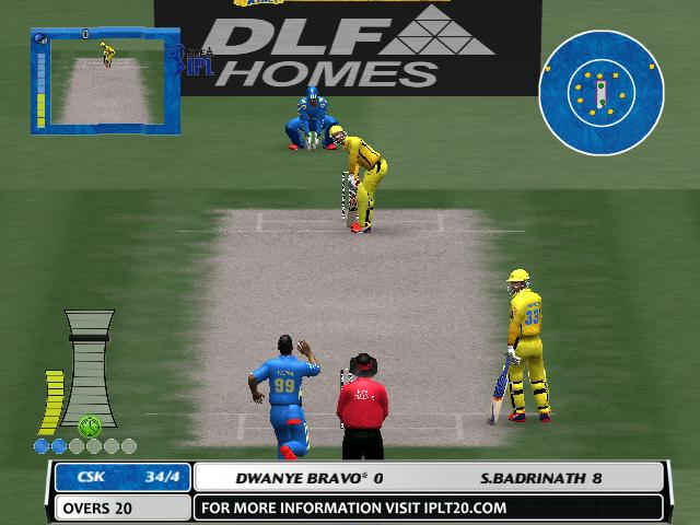 cricket games play online free of ipl 2012
