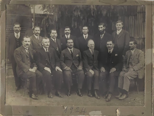 PASTORES IGLESIA METODISTA PENTECOSTAL 1924