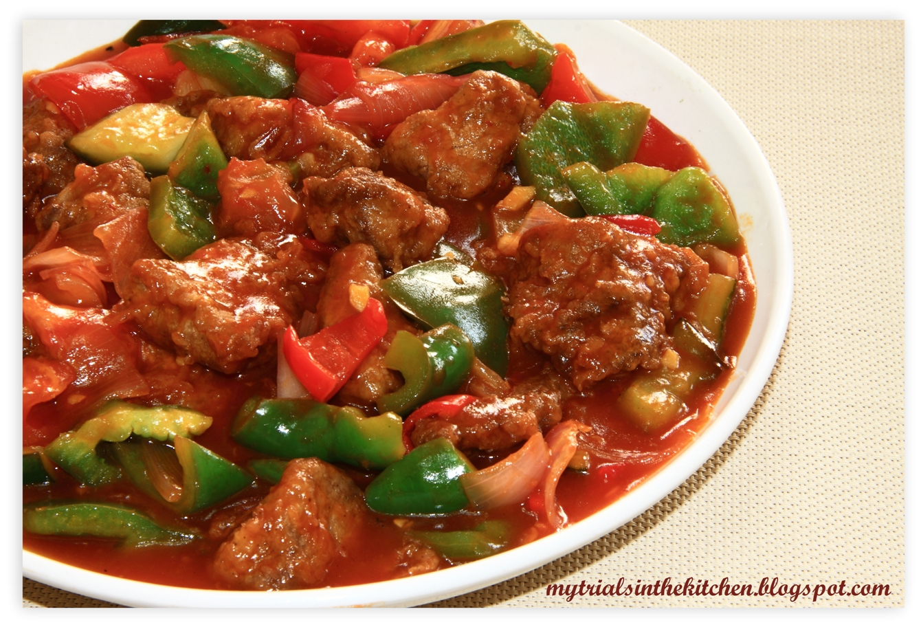 ... that I have missed for so long - Sweet and Sour Pork (咕噜肉