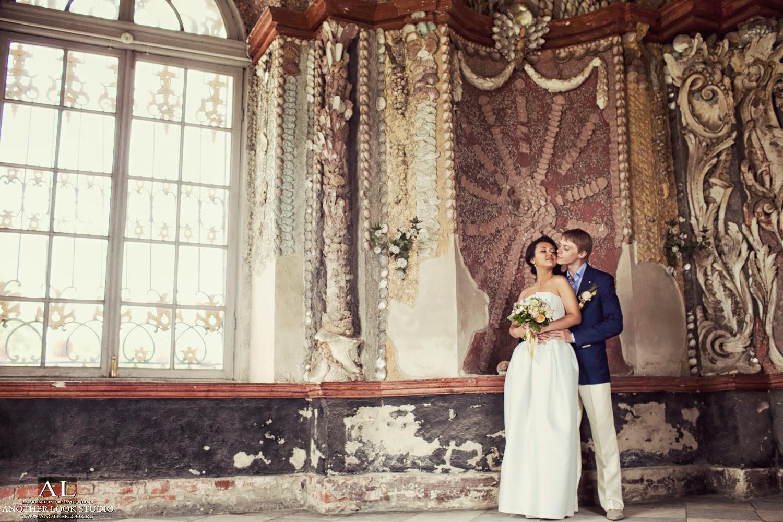 Красивая свадебная фотосессия в Кусково