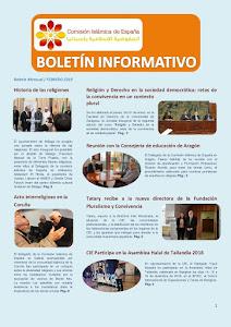 Boletín de la CIE febrero 2019