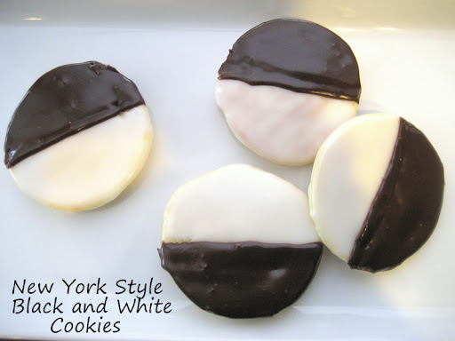 black and white cookies while i ve never had the real black and white ...