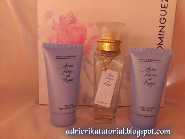Adrierika tutorial review set agua de rosas de adolfo for Adolfo dominguez neceser