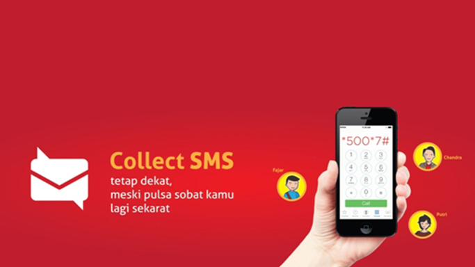 Aktivasi Collect SMS Telkomsel