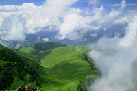 The Stunning Paya as seen from Makra Peak Kaghan Valley