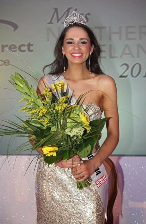 Miss Northern Ireland 2014 winner Rebekah Shirley