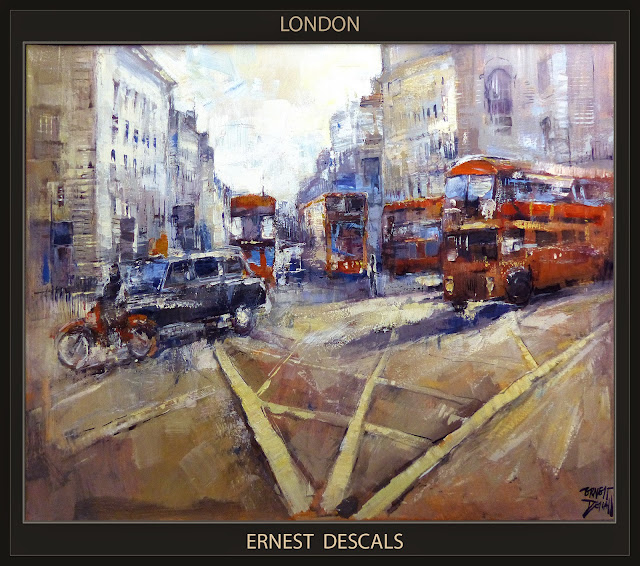 LONDRES-LONDON-PINTURA-ARTE-ARTE-PAINTINGS-PAISAJES-LANDSCAPE-ARTISTA-PINTOR-ERNEST DESCALS-