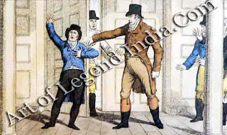 Assassination of a Prime Minister On May 11, John Bellingham an embittered bankrupt with a grudge against the government murdered Spencer Perceval in the lobby of the House of Commons. The assassin become a hero with the London poor, and was cheered on his way to the scaffold.