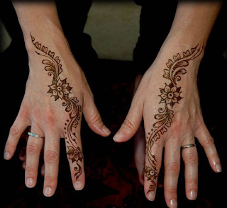 Arabic Mehndi Tattoo Designs For Hands