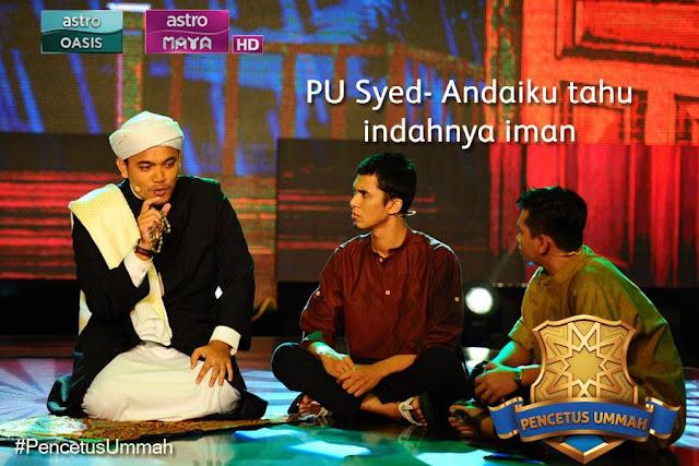 PU Syed Juara pencetus Ummah 2015,