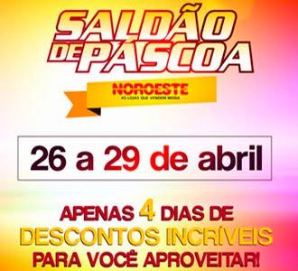 SALDÃO DA PÁSCOA NORORESTE