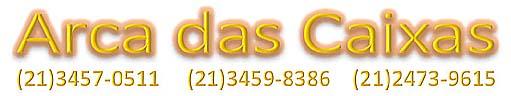 Caixas de Papelão | ARCA DAS CAIXAS | Caixa de papelão no Rio RJ RJ