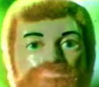 Propaganda do boneco Falcon, produzido pela Estrela no final dos anos 70.