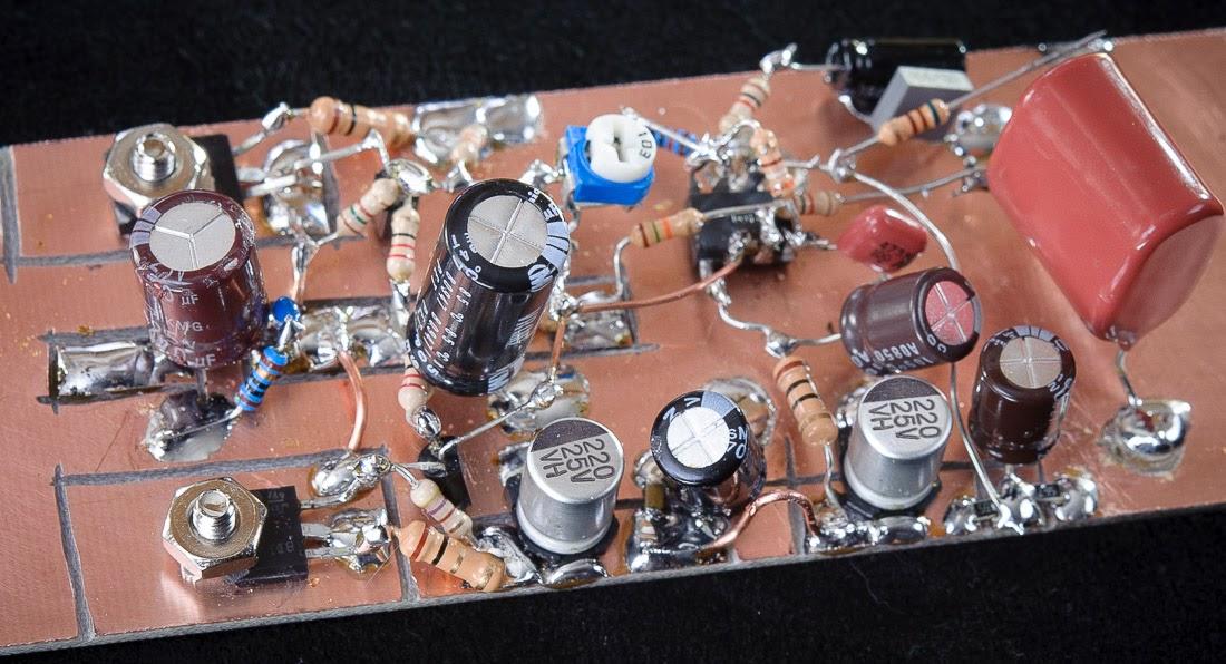AF circuit breadboard