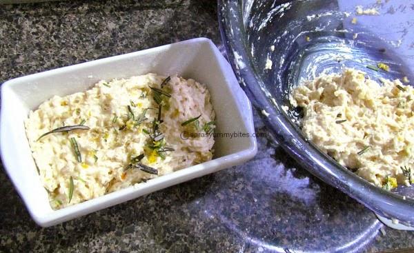 Potato Lemon Loaf with Rosemary