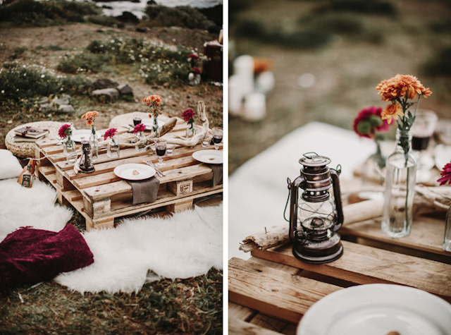 boda boho novia vintage mar tipi bohemia playa sesión fotos tenerife