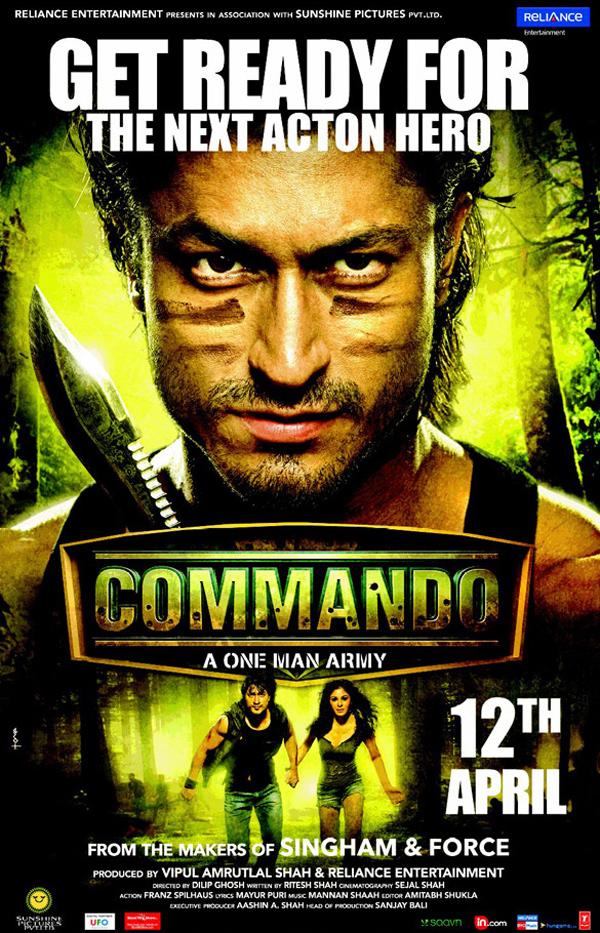 Commando – A One Man... Vidyut Jamwal In Commando One Man Army