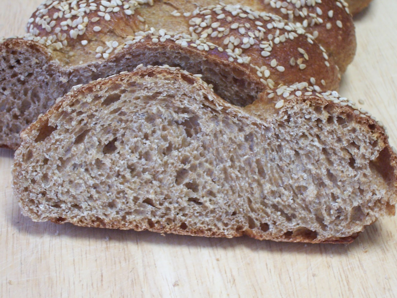 ovenminded: WGB # 22 Whole Wheat Challah