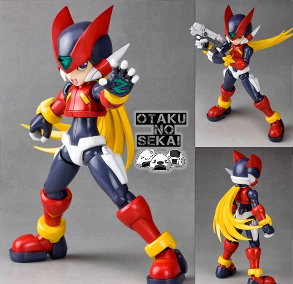 Mega Man - Zero 1/10 Plastic Kit