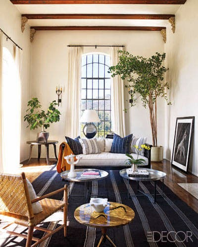 Classic 1920s Spanish Style Home In Hollywood Hills Of Ellen Pompeo Featured Elle Decor 2010 As Designed By LA Designer And Million Dollar Decorator