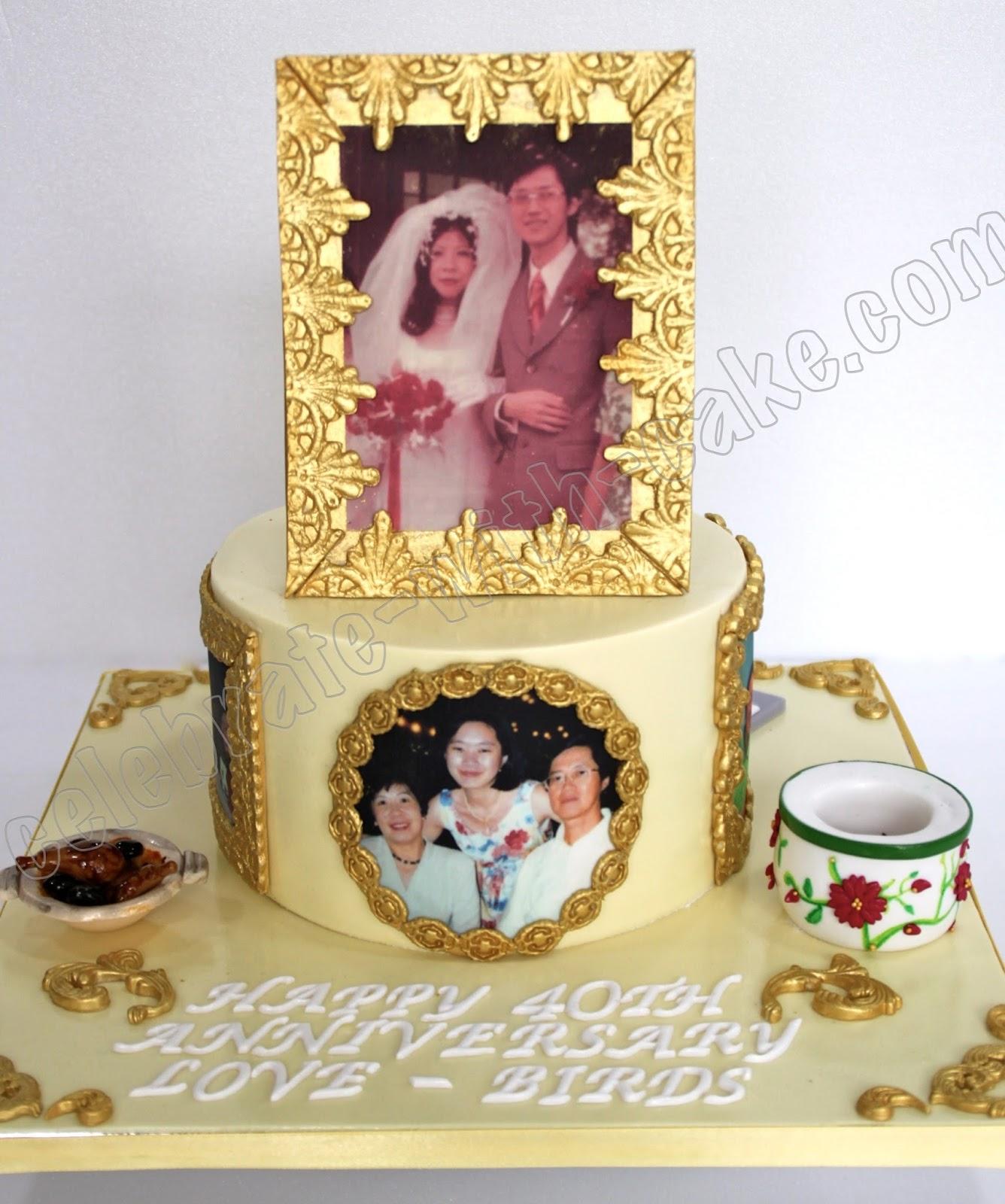 Celebrate with Cake!: Traditional Chinese Wedding Anniversary Cake