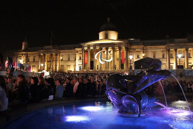 Paralympics closing ceremonies trafalgar square London