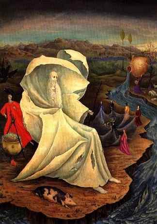 Leonora Carrington La tentación de san Antonio
