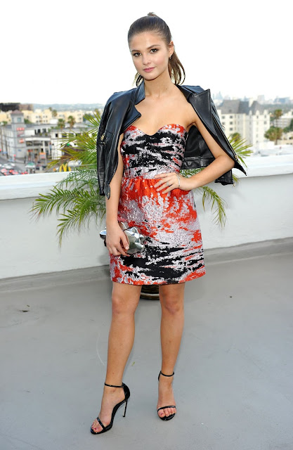 Actress, Singer @ Stefanie Scott Teen Vogue Dinner Party In Los Angeles