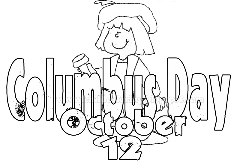 Christopher columbus day coloring page sketch coloring page for Columbus coloring page