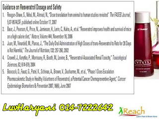 Senarai Kajian : Guidance on Resveratrol Dosage and Safety