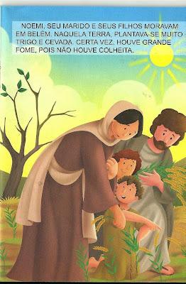 Rute- História bíblica infantil