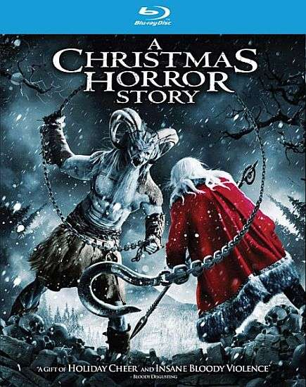 A Christmas Horror Story Blu-ray cover