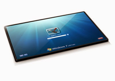 Multi Touch Screen TV