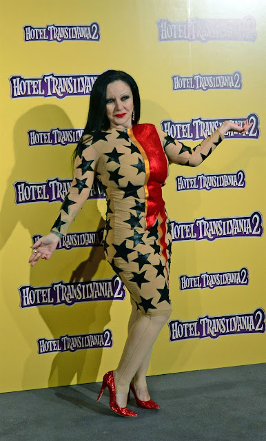 Alaska de María Escoté Esterno de Hotel Transilvania 2