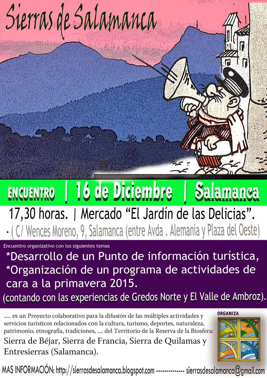 16/Dic/14. Encuentro para mejorar la Cooperación en las Sierras de Salamanca