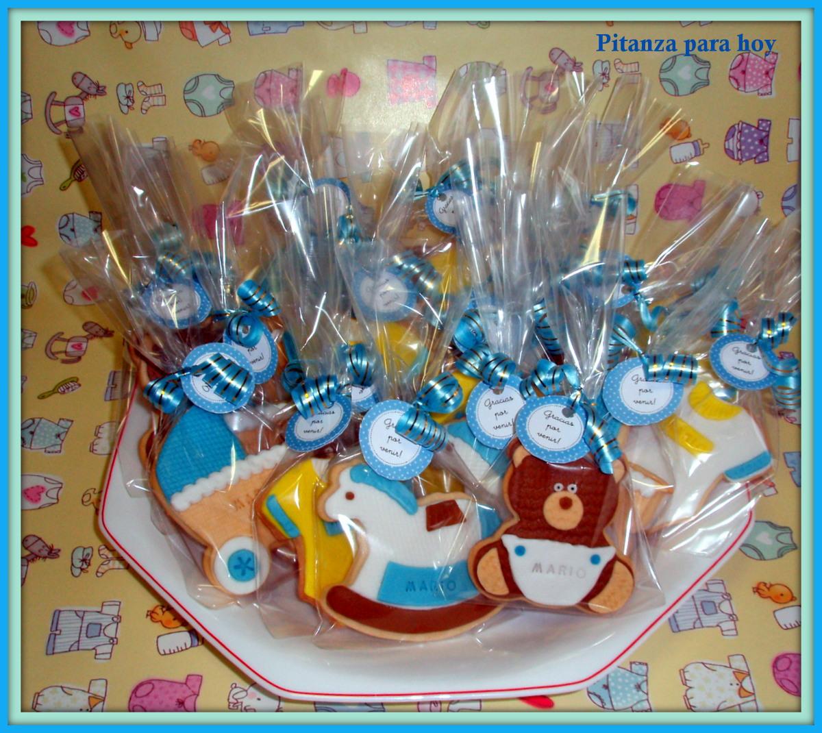 Pitanza para hoy: Galletas Baby Shower de niño