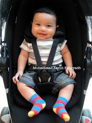 Baby Aaron 3 bulan