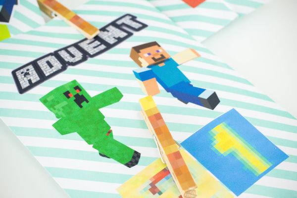 DIY Minecraft Adventskalender
