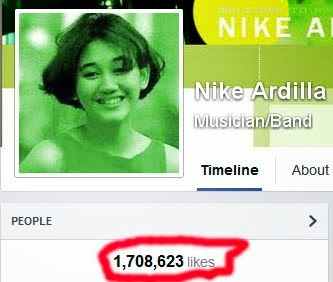 1,7 MILLION FANS ON FACEBOOK