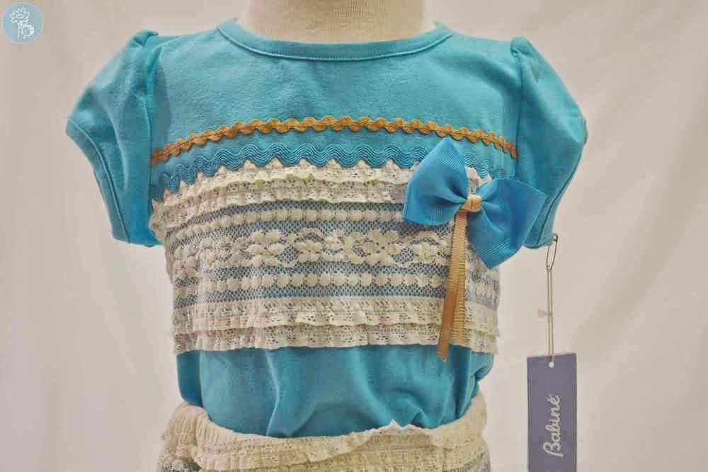 Conjunto Babiné en Blog Tienda Retamal moda infantil camiseta