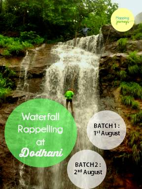 dodhani waterfall rappelling
