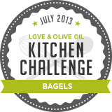 Love & Olive Oil July Kitchen Challenge: Bagels