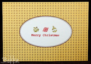Elegant Engravings Christmas Card