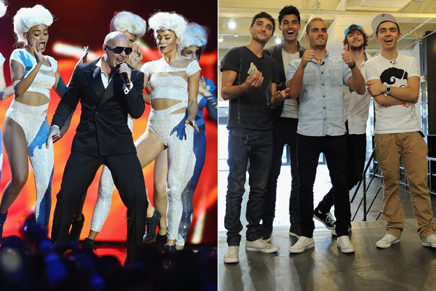 Pitbull e The Wanted