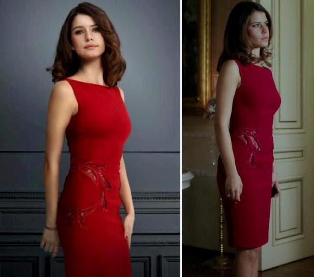 Beren Saat Red Dress