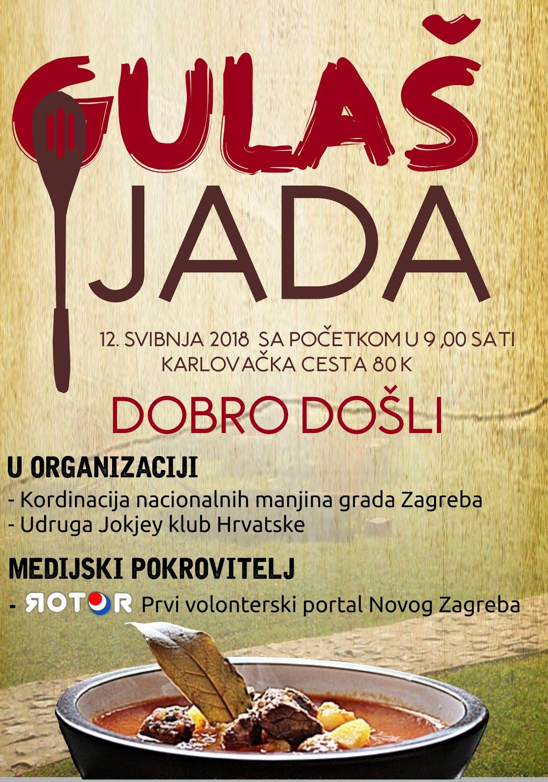 NAJVEĆA - GULAŠIJADA -  NOVOG ZAGREBU