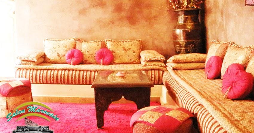 Salon marocain luxe - Décoration Salon Marocain Moderne 2016