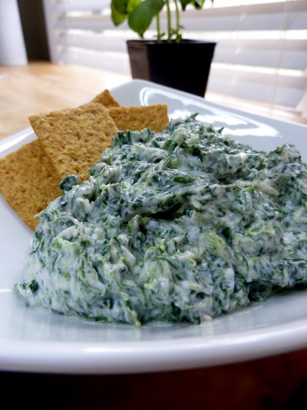 Cookin' Cowgirl: Healthy Spinach Yogurt Dip