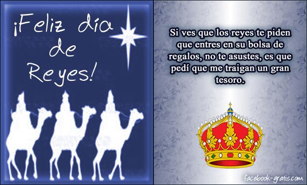 Carta del día de los Reyes Magos