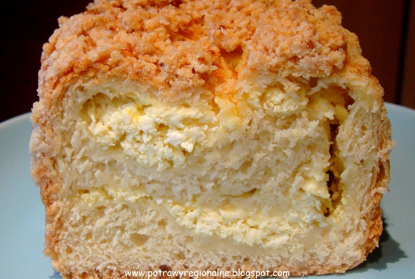 Ciasto Drożdżowe z Serem Przepis Ciasto Drożdżowe z Serem Czyli